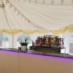 Cream Wooden Bar